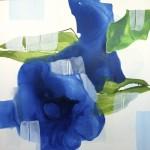 """""""True blue"""" I 125x125"""